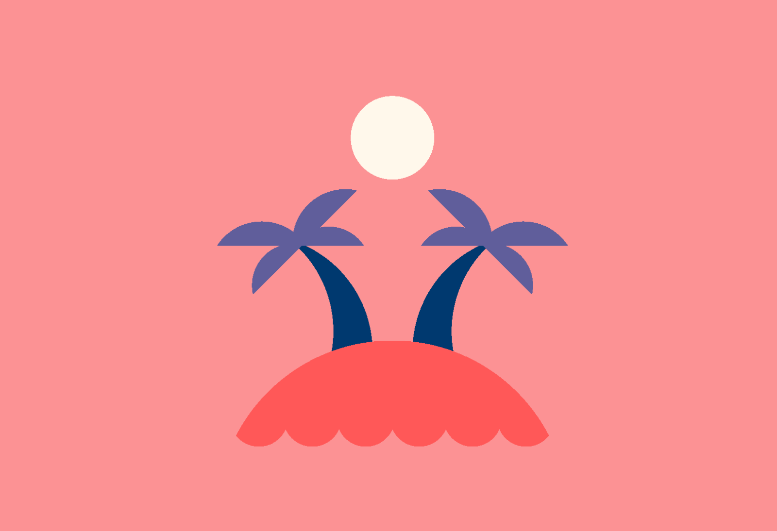 Illustrated trees, used as inspiration in the Fabled digital product.