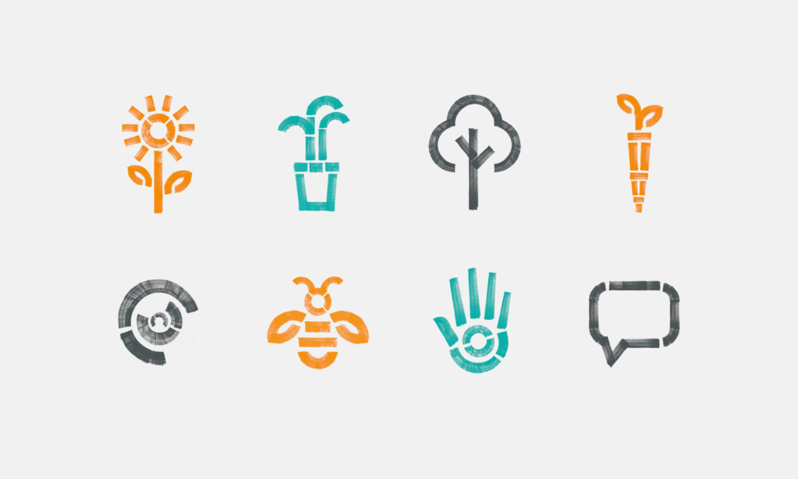 Custom icons for the Global Generation branding.