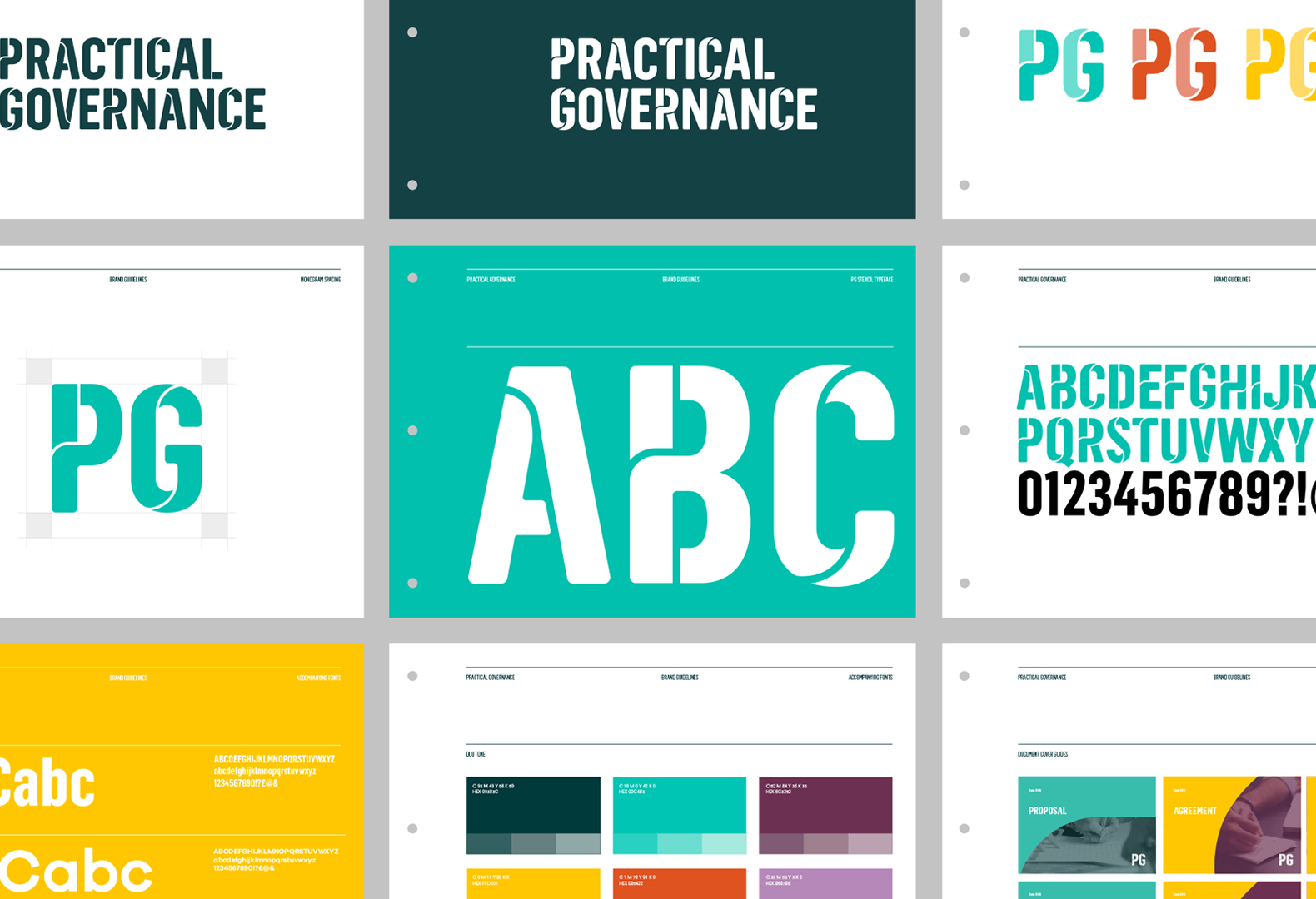 Practical Governance brand guidelines.
