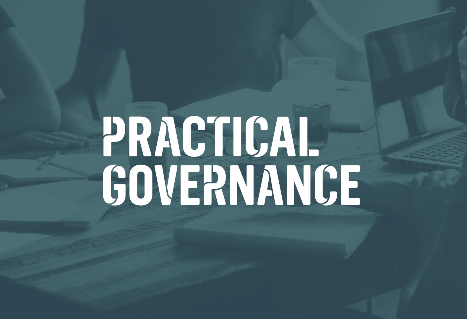 Practical Governance logotype.